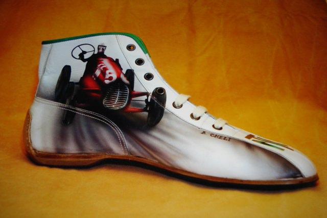 scarpe alfa romeo